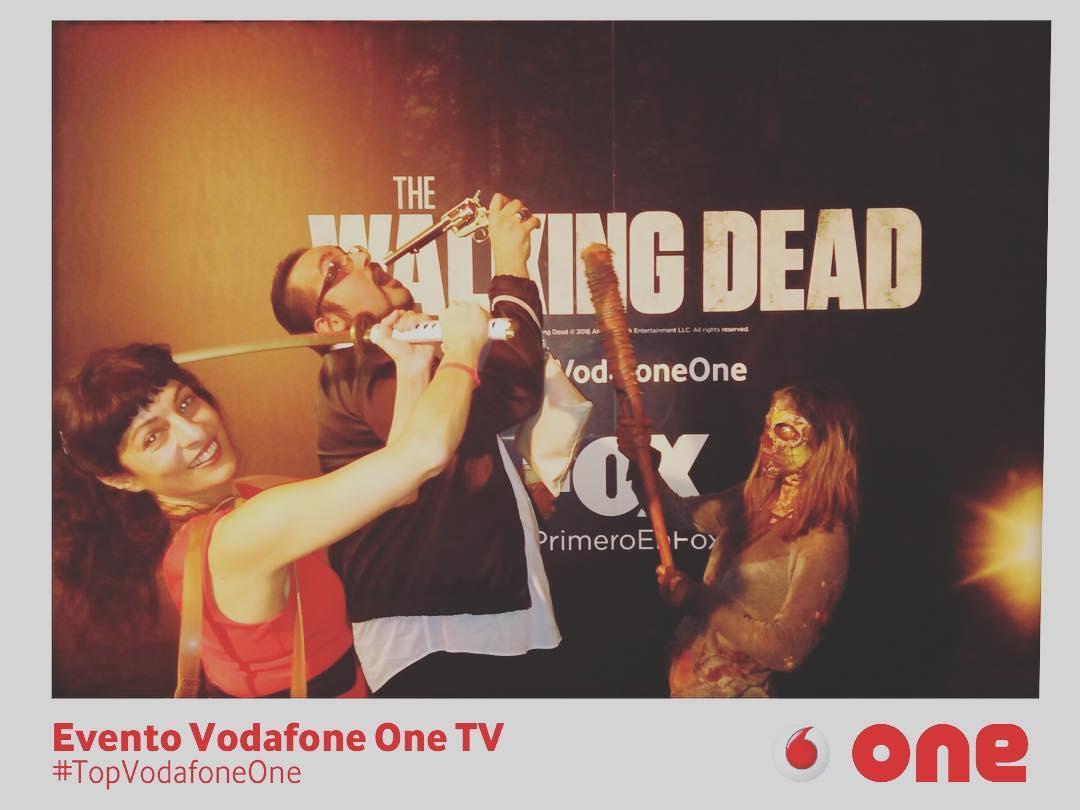 No hemos divertido mucho, gracias @vodafone_es #topvodafoneone ;))