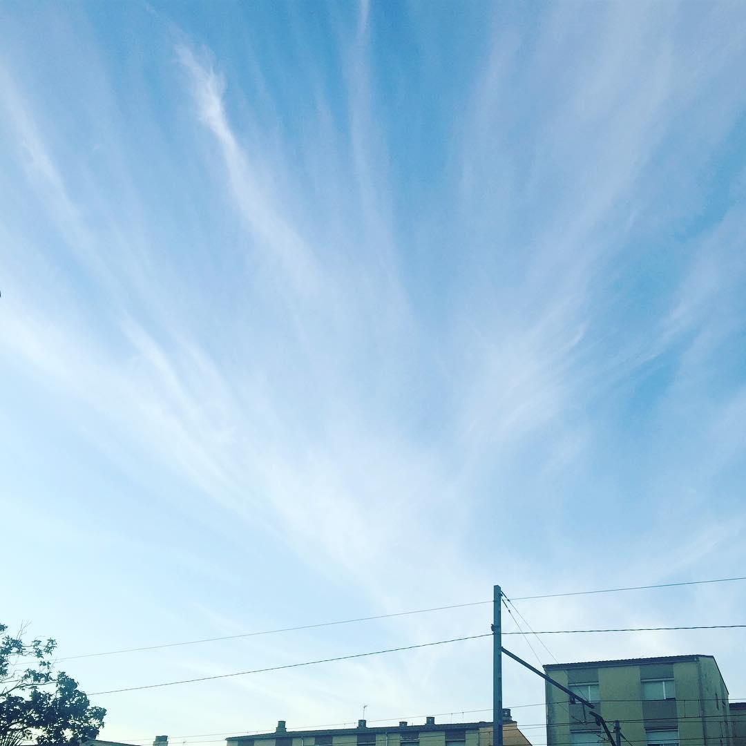 Preciosos núvols de #tramuntana