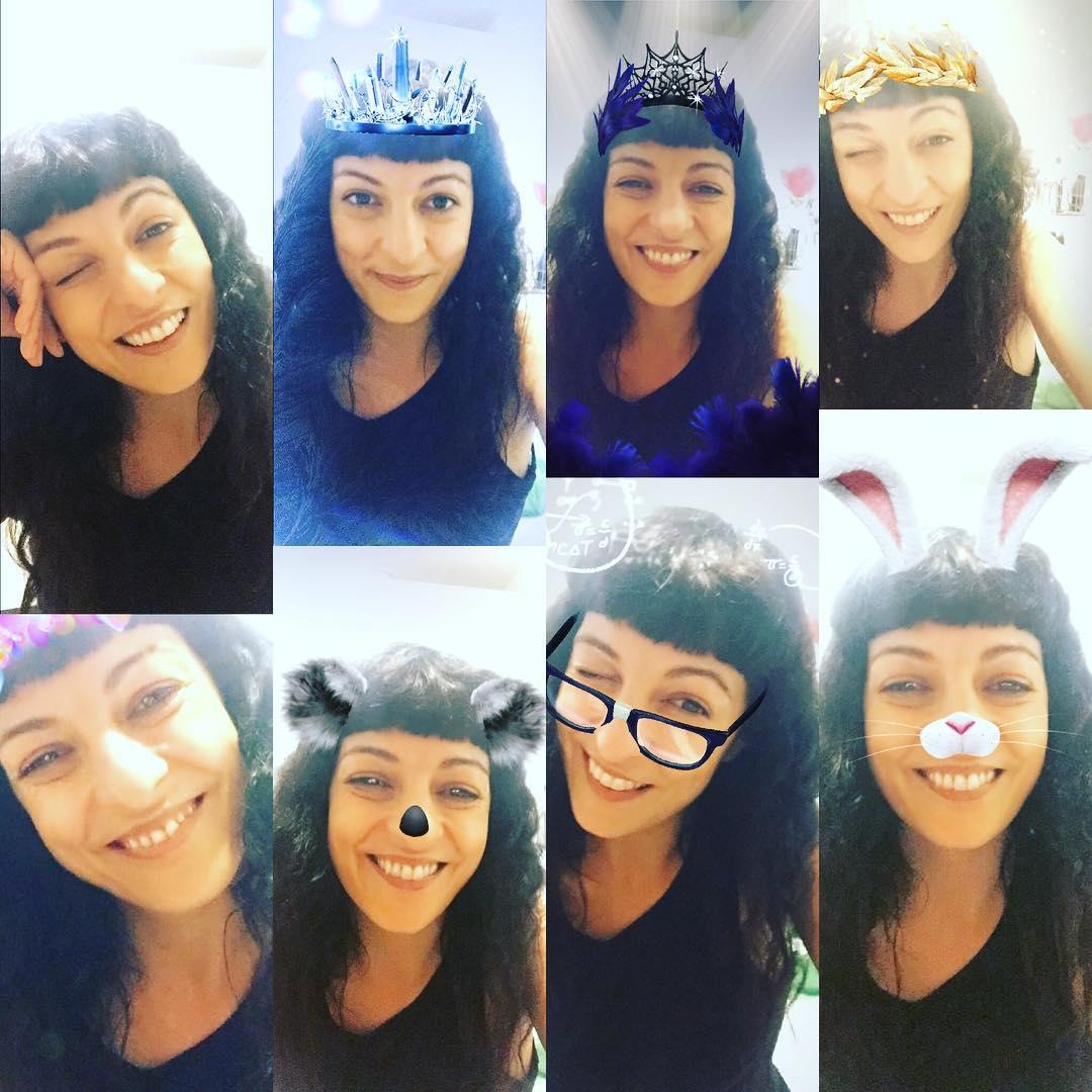 Habéis probado ya las #mascaras que instagram le ha copiado a #snapchat ? ;))