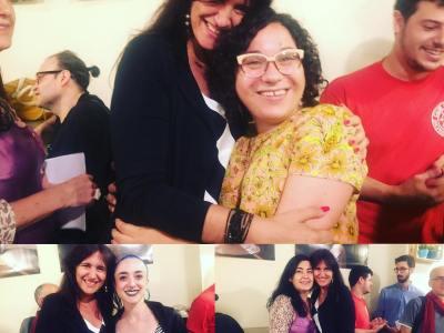Na Maria Antònia Massanet i na Laura Borras i més de 100 poetes convocats!!!