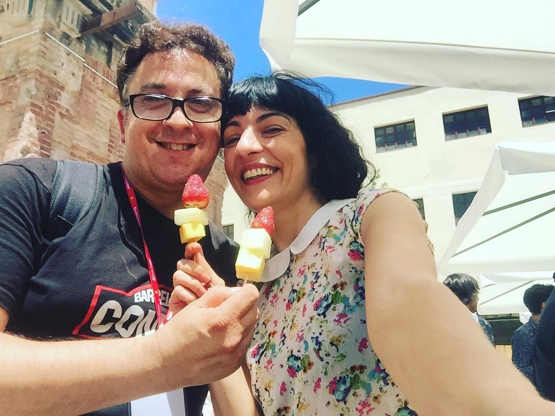 Brindamos por #lavidanuestra#lavidanostra con @estrelladammcat