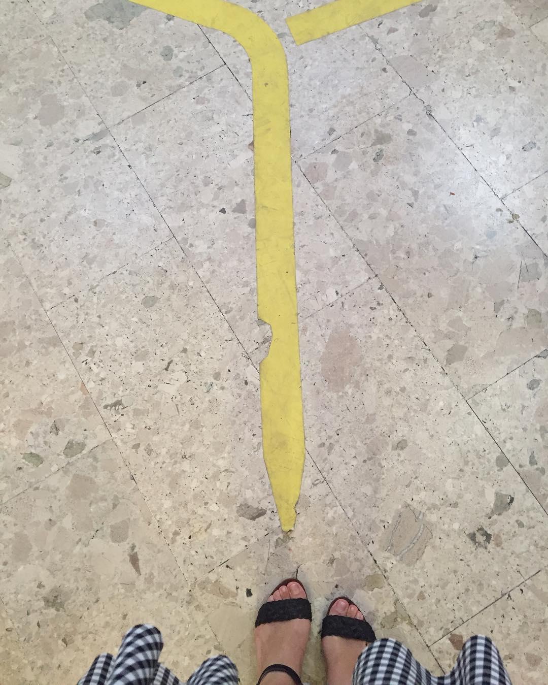 Sigue el camino de baldosas amarillas