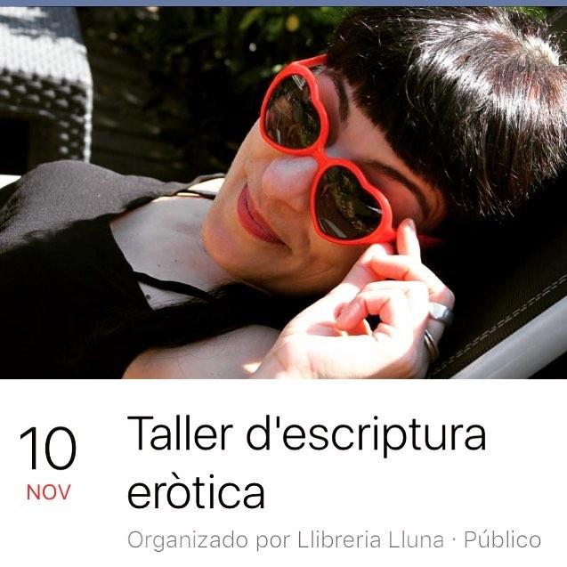 Aquest mes de novembre seré a Mallorca a #llibrerialalluna de Palma per fer un taller, inscripcions obertes. Foto de @kritobcn01 ;))