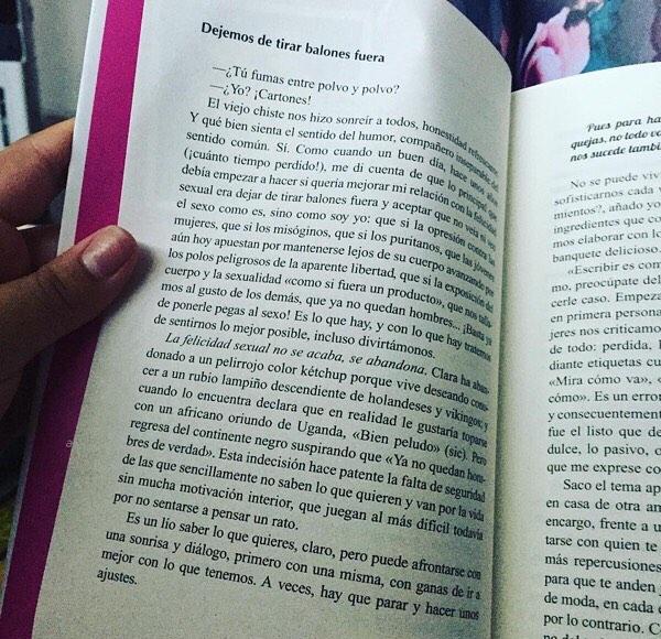 La felicidad sexual no se acaba, se abandona. #megustaelsexo ##escritora #mallorquina #algaida #clubdelectura #llibres #libro #books #bookshop #libreria #llibreria #bestseller #leermola #leeressexy #lecturas #booklover #bookstagram #cultura #regalalibros #regalallibres #mallorcainspira