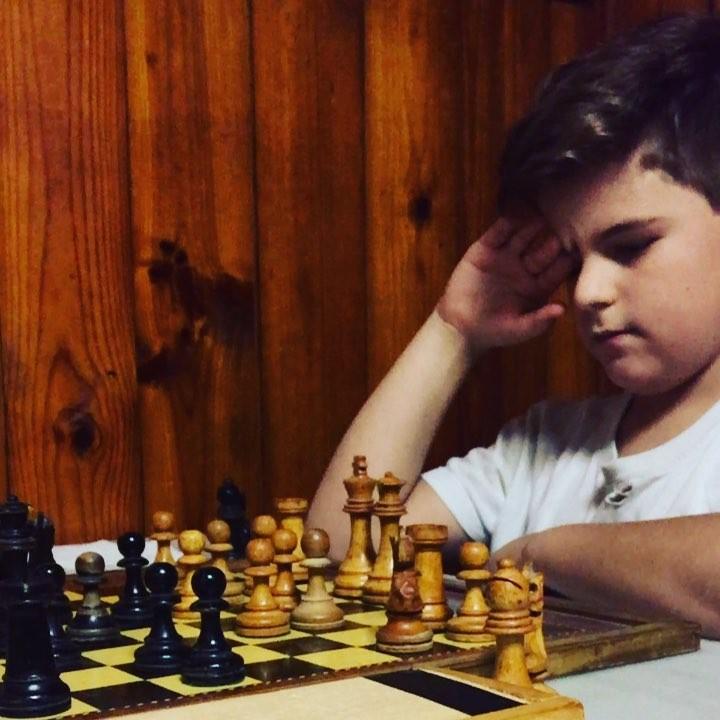 """Le recuerdo a mi hijo Juan la reflexión de David Bronstein: """"El ajedrez es imaginación."""""""