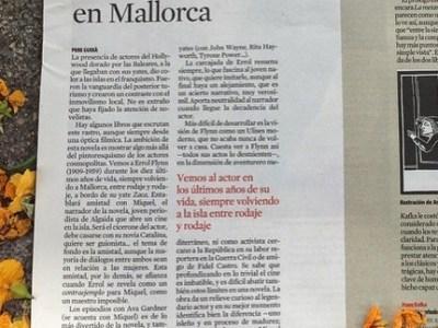 #errolflynn en Mallorca #elecuadordeulises