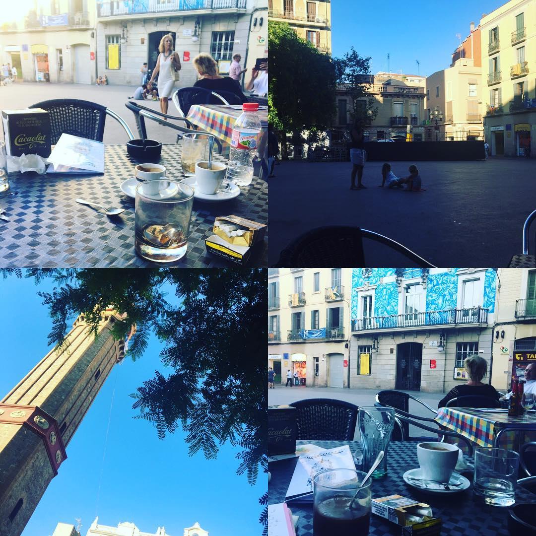 Ara, la millor plaça del món per fer tertúlia a la fresca ;)) #barridegracia