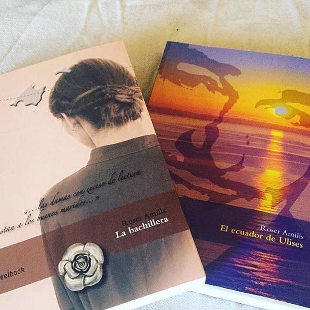 Gracias a todos los que habéis leído #labachillera y #elecuadordeulises este verano. En octubre sale una nueva novela 💕
