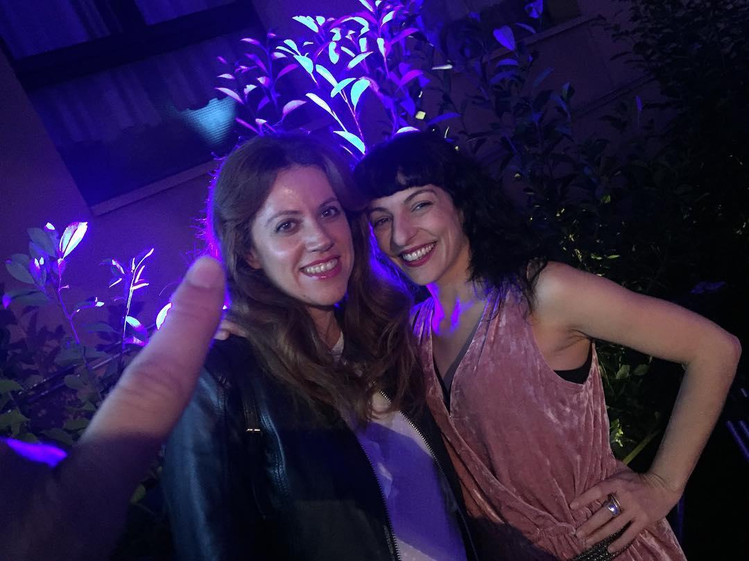 Con @vanessa_hogarth inauguramos el hotel OD #Barcelona @ODHotels. Mi vestido es de @justfab_es