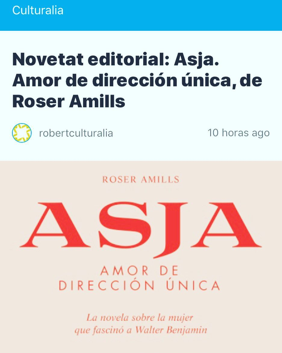 Avui el #blogculturalia explica una miqueta la nova novel.la #asjalacis ;))