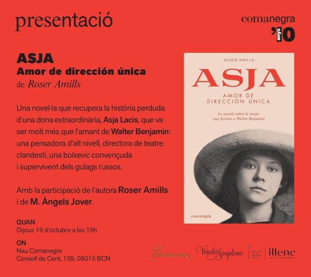 "Presentación de ""Asja"", mi nueva novela"