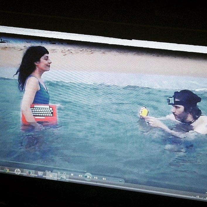 Recordáis que estuve en el mar, hace unos días? Habrá vídeo excelso de @documentalidades el 19, estreno en la presentación de #asjalacis en @comanegra ;))