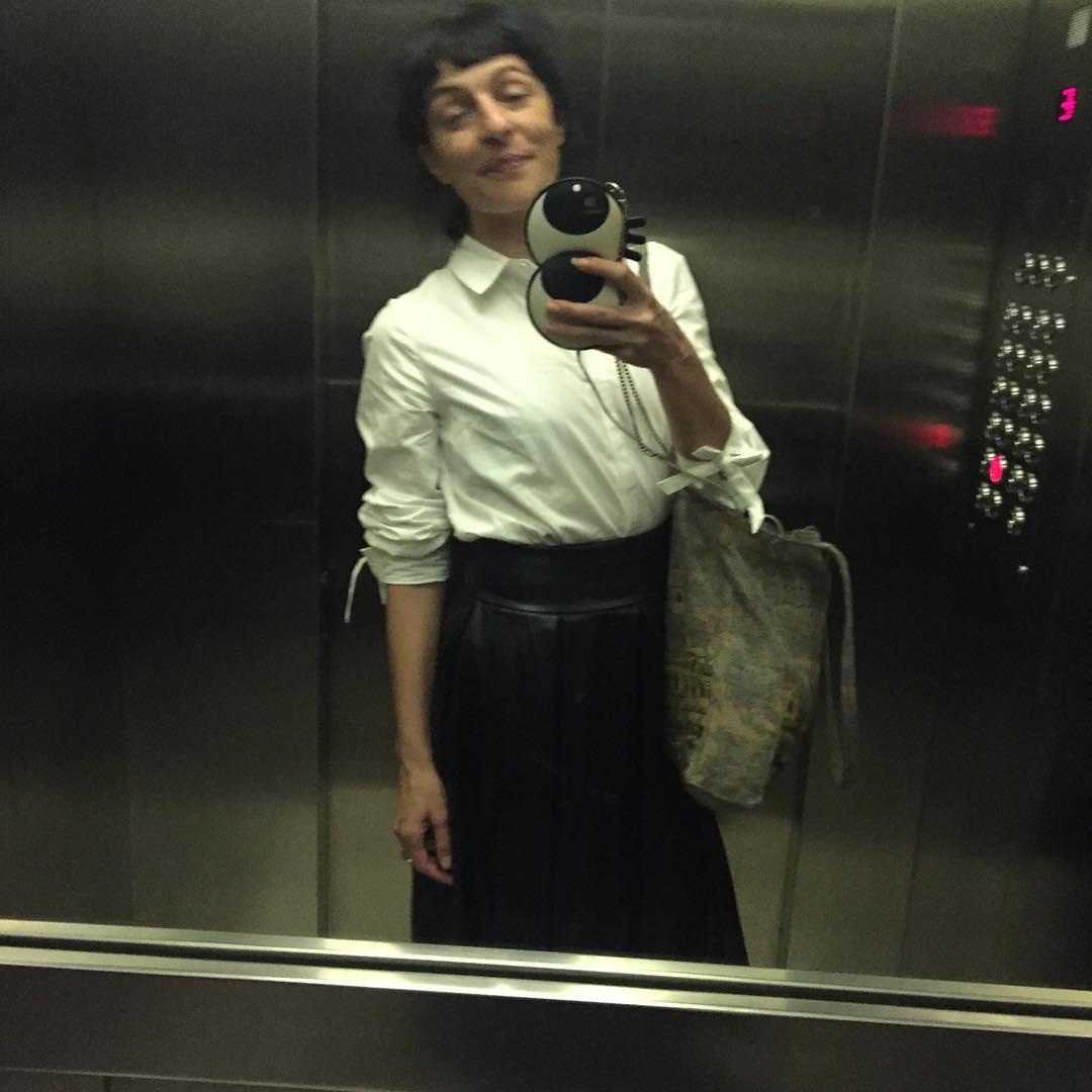 Los espejos de los ascensores… ☺️