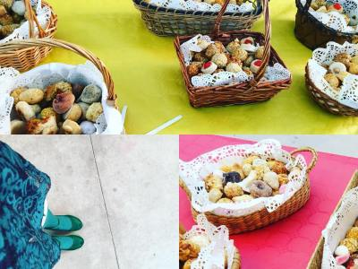 A l'escola del meu petit avui no falten els panellets! Bona castanyada! #panellets #food #foodie #foodphotography #foodblogger #foodstagram #foodstyling #castanyada #castañada #halloween #tradicions #catalunyaexperience #somgastronomia #gastronomia #totssants #cuina #gastroblogger #igers #instagramers #instagram #instafood #hautecuisines