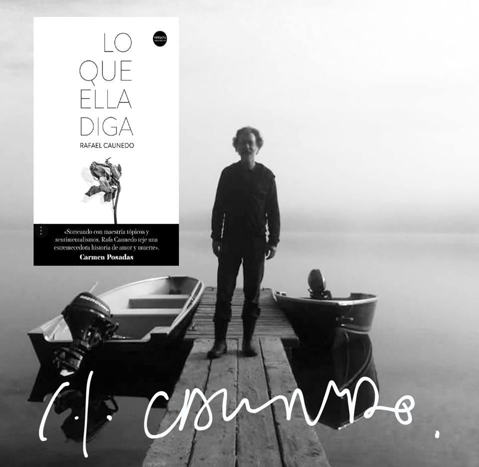 Presento la nueva novela de Rafa Caunedo