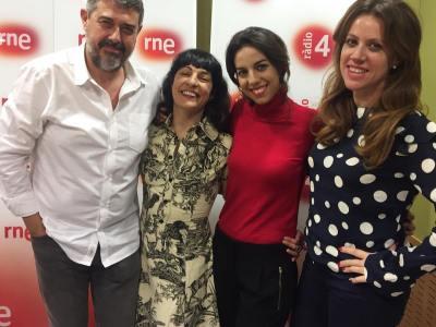 Un plaer sempre formar part de la conversa dels dijous a @anemdetarda Avui amb @claramon93 i el #tedxbarcelonawomen :))