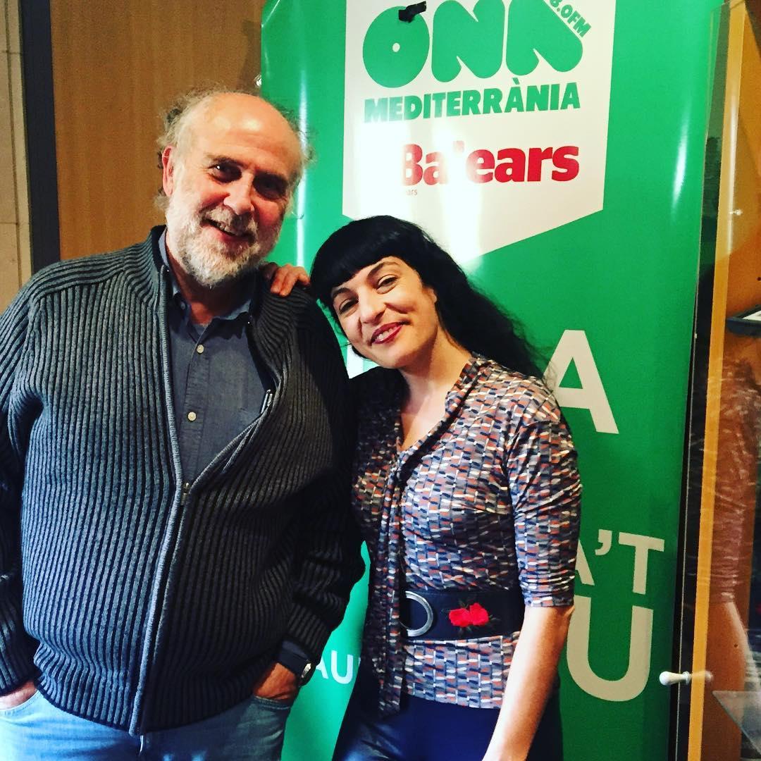 Ganes d'escoltar dilluns s'entrevista a @elcrepuscle d'Ona Mediterrània amb Pere Estelrich!