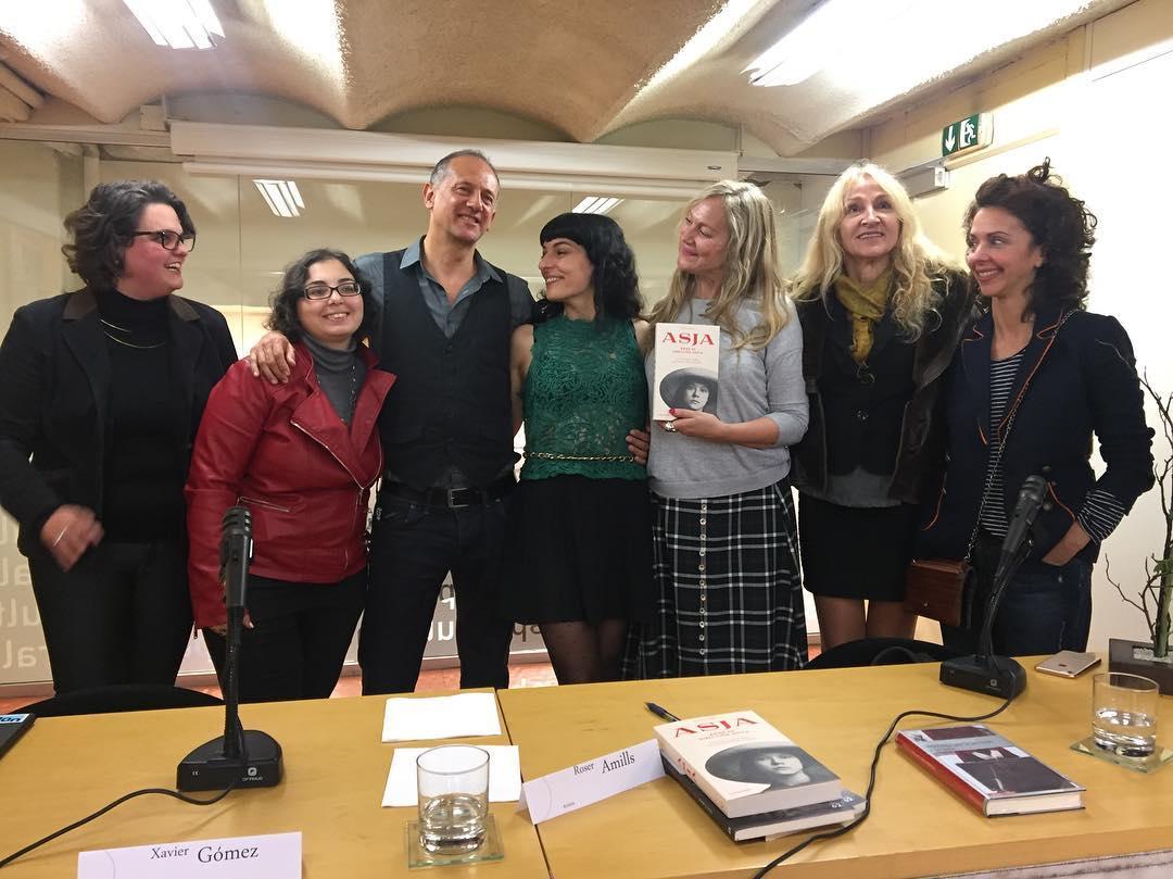 La alegria de compartir #asja hoy en Barcelona ha sido enorme! Gracias a todos, y a @xavigoca por presentarla!