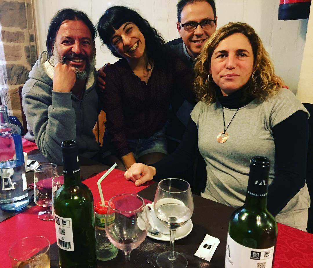 Hem dinat i hem conversat @txuscarbo @octavio_serret #pepanogues