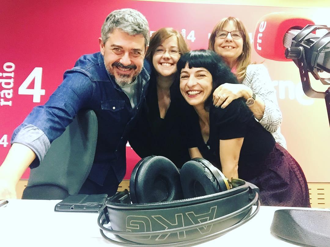 roser amills @radio4_rne en directe!!! @anemdetarda