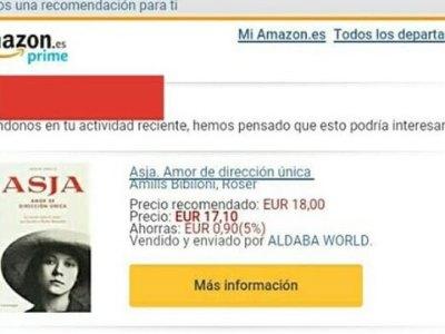 ¿Dónde puedo comprar los libros de Roser Amills? En Amazon, por ejemplo…