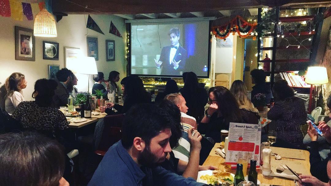 """Hemos montado una """"party hard"""" para apoyar a @ItziarCastro #itziarcastrolamasgrande en su candidatura a los #premiosgoya2018 Con @AnnaBertran @jorgecaprile @BetsyTurnez @ratratusman @ImmaSust @CristinaDilla y tant@s otr@s!!! 👍"""