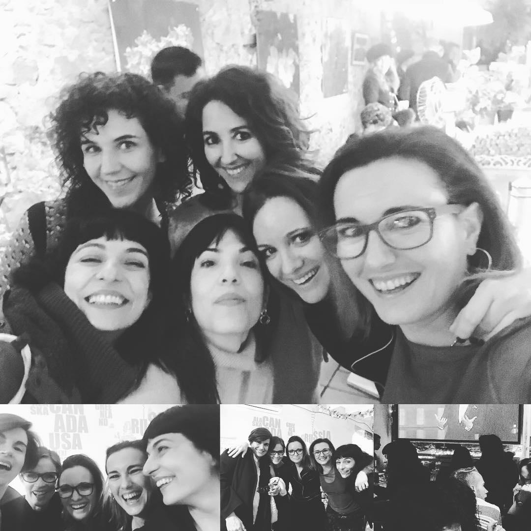 Ayer celebramos algo precioso: la posibilidad ganar un Goya de @itziarcastro. No se lo dieron los de la #academiadecine pero nosotros le dimos amor del bueno, que vale mucho más