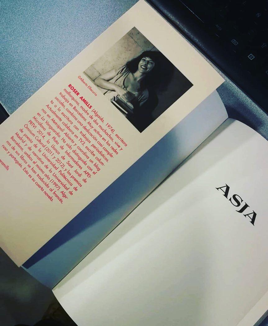 Novela sobre Asja Lacis, de Roser Amills, dedicada