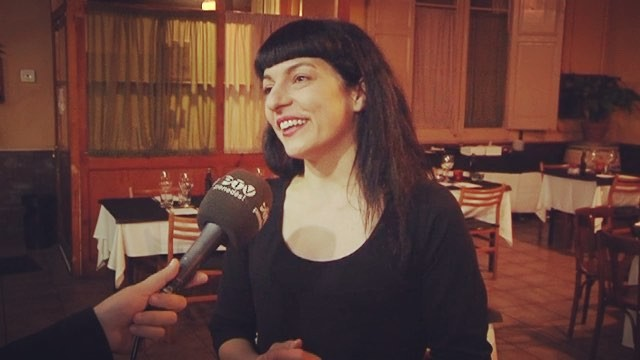 Roser Amills entrevistada por @laiaparetas de Penedès TV per explicar el que vam fer amb @visitaavinyonet i la nit de #Visexual a #Cantallops #Microvi2018 #sexeivi #sexandwine