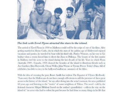 #elecuadordeulises The link with #ErrolFlynn atracted the stars to the island