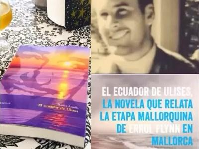 #Repost Imprescindible para este verano, un buen regalo ・・・ Os animo a echarle un vistazo a #elecuadordeulises: la novela que relata la estancia de #ErrolFlynn en Mallorca en los años 50