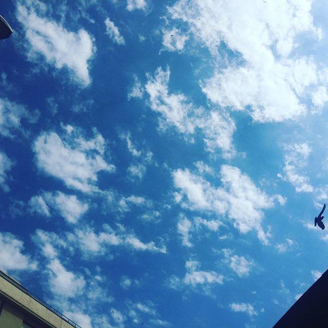 Hoy tenemos el cielo así, en Barcelona!