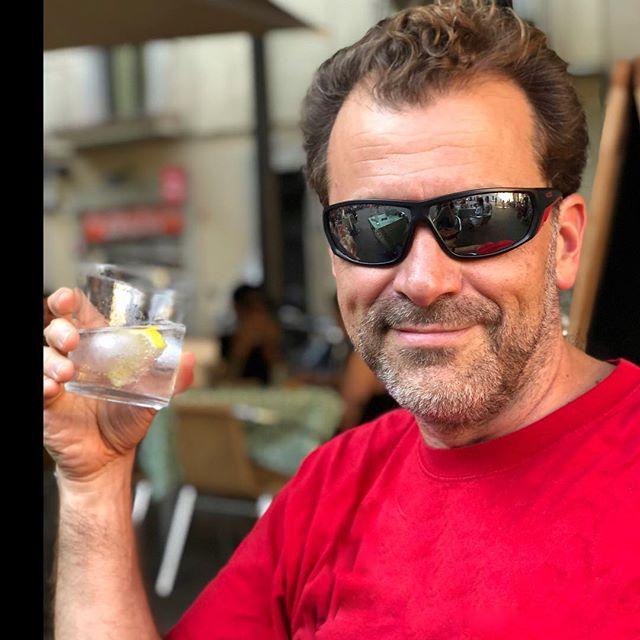Con David Gau en la plaza, #michicomartini ;))Bon cap de setmana a tothom!