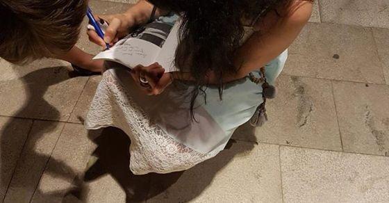 roser amills dedicar libros de poesía es maravilloso