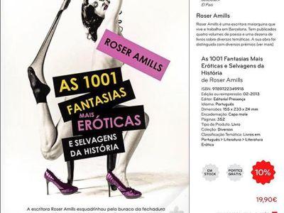 Passatempo – As 1001 Fantasias Mais Eróticas e Selvagens da História, Roser Amills [Editorial Presença]