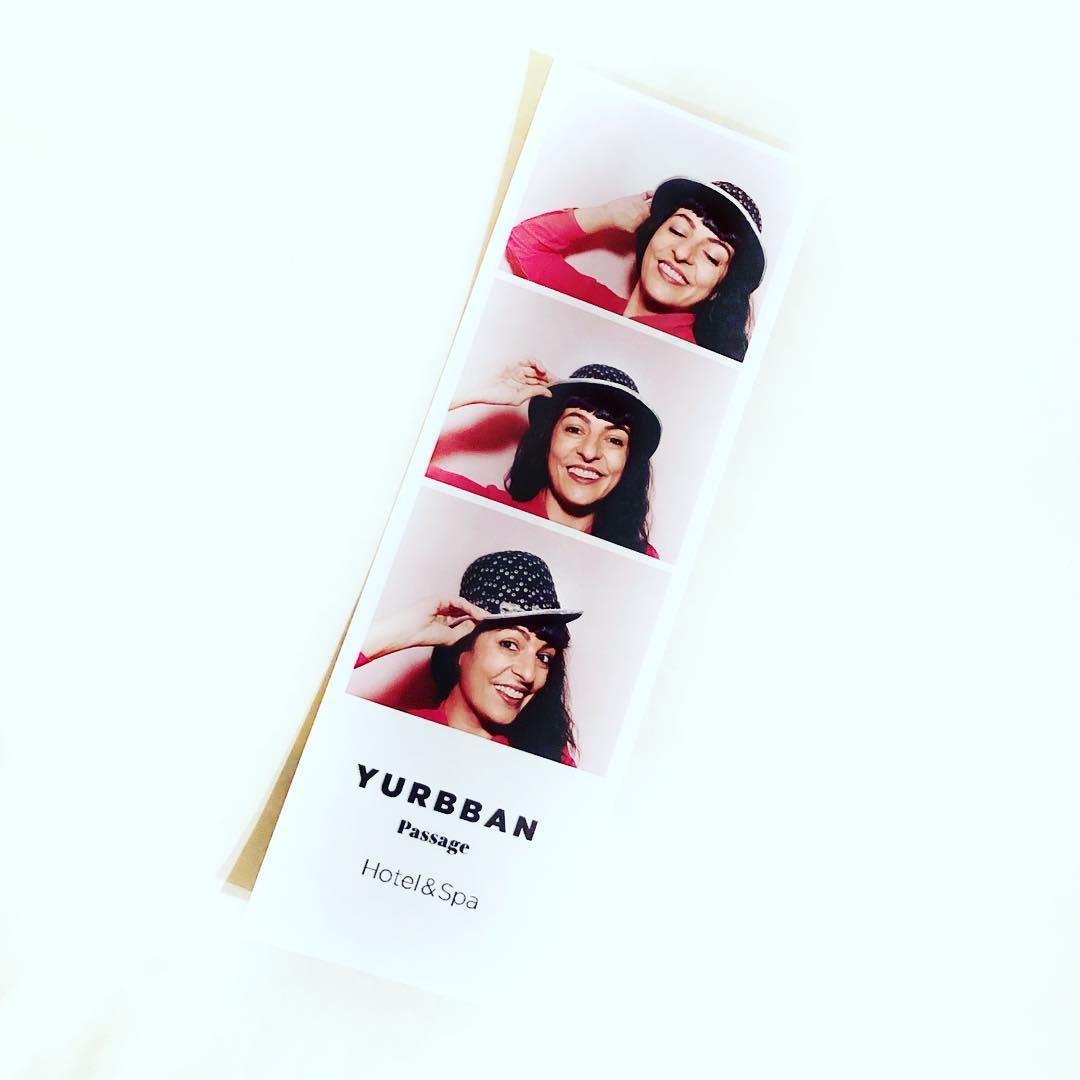 #bondia Me divertí mucho con el #photomaton de @yurbban ;)) Se nota? Tenéis que ir a probarlo, es genial!