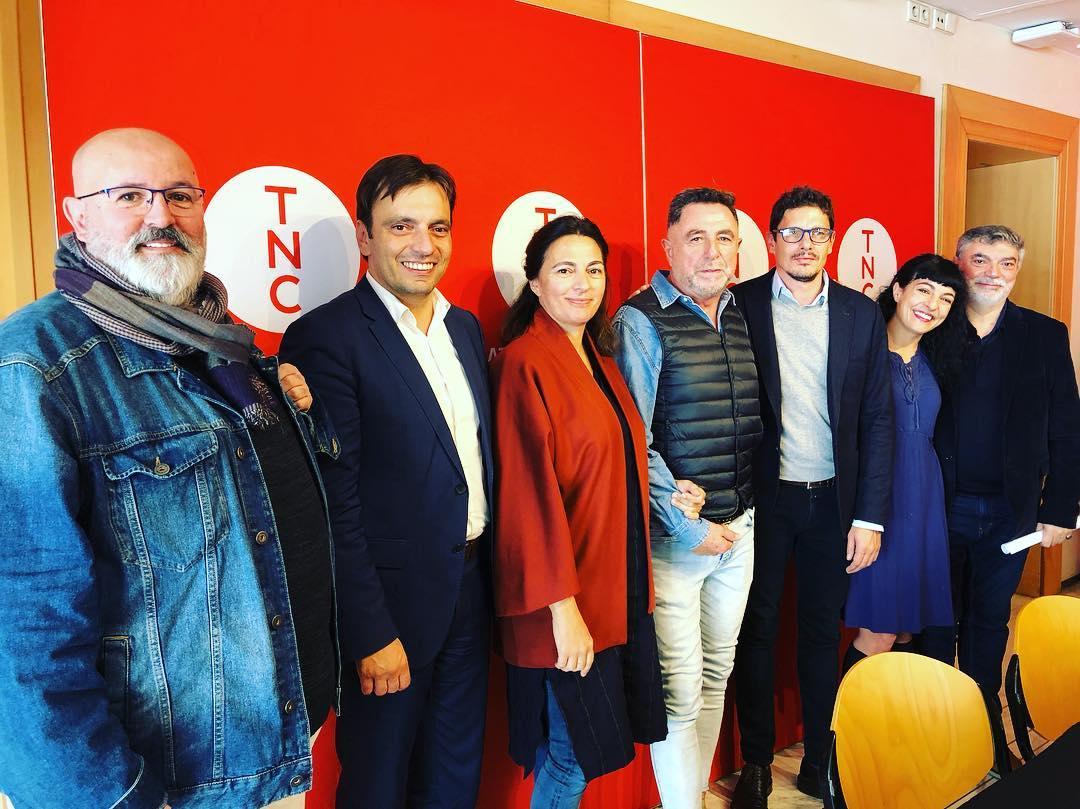 Queda presentada la feina conjunta per a 'La nit de Catalina Homar' de Llop i 'Les darreres paraules' de Riera. Ja podeu anar al @teatrenacional a veure-la 🎭 #mallorquins #arxiduc #lanitdecatalinahomar #llopriera