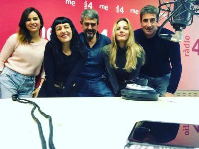 Atención! Es sábado por la mañana y ahora mismo nos tenéis en la radio! de 10h a 10:30h en #son4dies de @GoyoPrados en @radio4_rne !