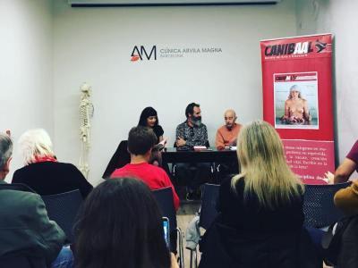 #Repost Presentación de LA ENTROPIA DE LOS RELOJES ROTOS de Ximo Rochera con Antonio Beneyto