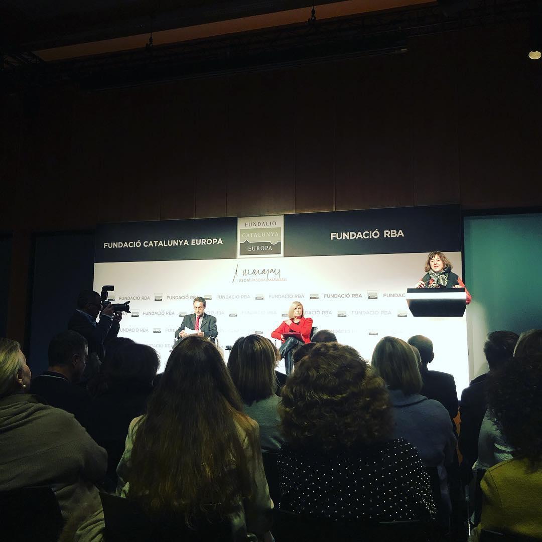 Va a ser muy interesante escuchar a #ChantalMouffe (hoy en Barcelona gracias a #fundaciocatalunyaeuropa #llegatPM) y escuchar sus reflexiones sobre #populismo, #igualdad y #justiciasocial. #politica #pensamiento #europa #analisis #cultura