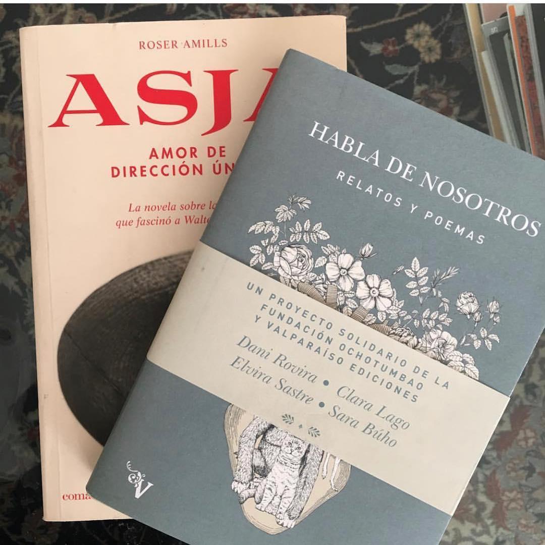 Gracias #reyesmagos por regalar hoy, también, la novela sobre #asjalacis & #walterbenjamin, es un regalo para su memoria y para mí 💕📚 [foto de la preciosa @soniaand.co ]