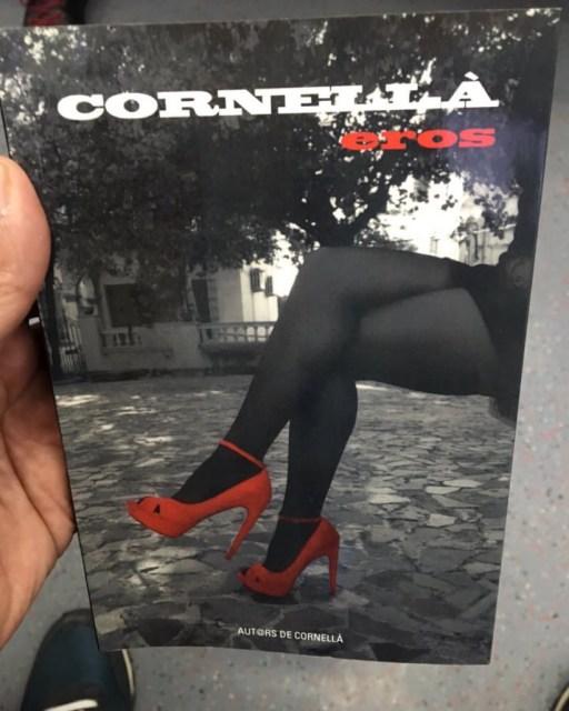 """Antologia """"Cornellà Eros"""", coordinada per Xavier Borrell i amb pròleg de Roser Amills"""