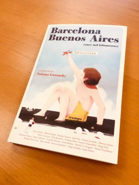 #Repost @trampa_ediciones La urbe catalana y la capital argentina hermanadas. Barcelona-Buenos Aires, once mil kilómetros. La portada es de David de las Heras