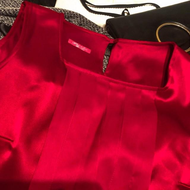 Os atreveríais con este vestido rojo de #migueldeluna ? Qué opináis?