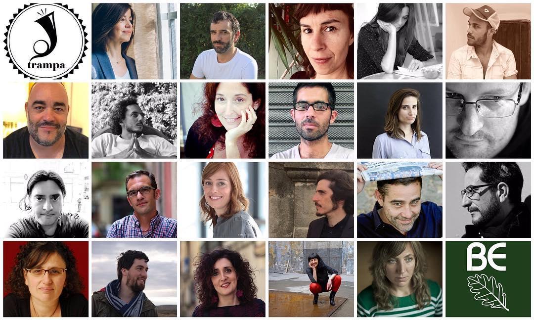 Fechas de presentación de nuestra #OnceMilKilómetros: 21 en K19 #kosmopolis, 23 en @Nollegiu, 30 en #Andenbuch (Berlín), 27 en Buenos Aires, 7 de mayo en el stand de Barcelona, Feria Internacional del Libro de #buenosaires