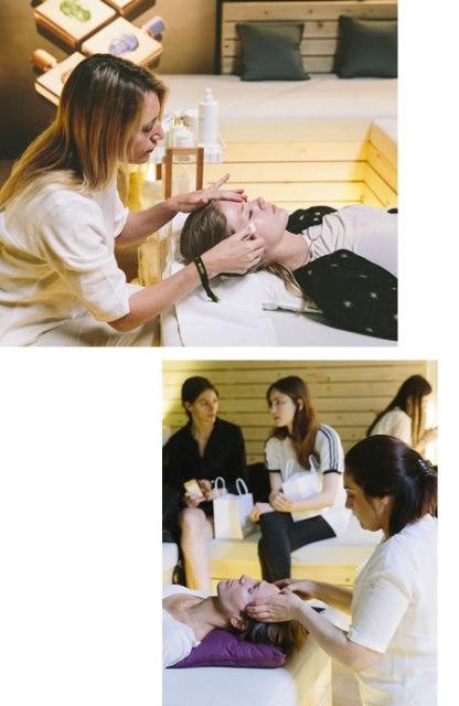Pruebo el exclusivo tratamiento Valmont de cara, cuello y manos, en la VALMONT Barcelona Bridal Fashion Week   VBBFW19