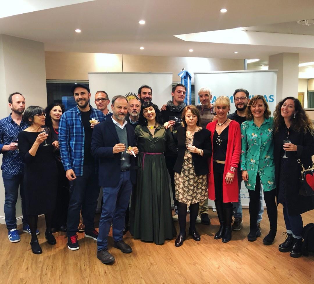Recepció Barcelona ciutat convidada a la Feria del Libro de Buenos Aires al consolat argentí