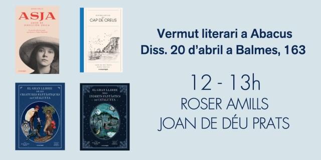 "Vermut GRATIS pre Sant Jordi | Signo ""Asja"" a Abacus"