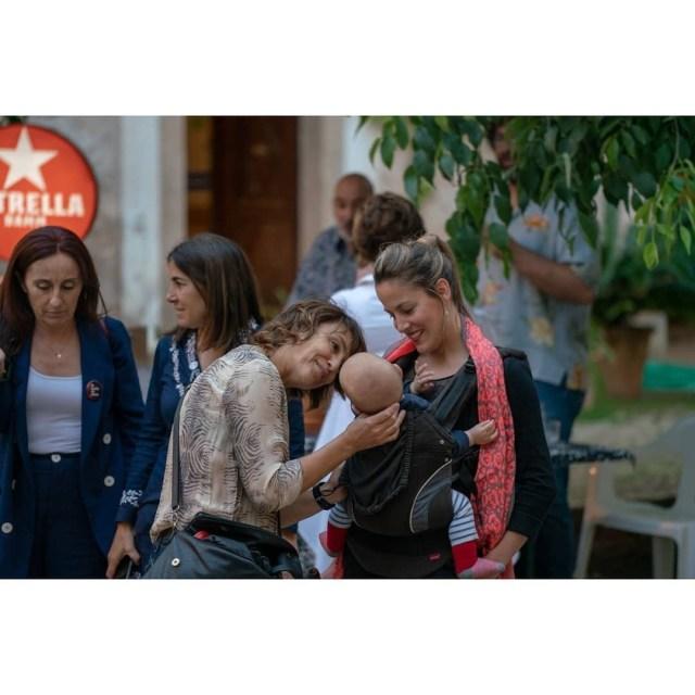 Foro Mujeres Que Marcan 2019 durante la previa en Raixa