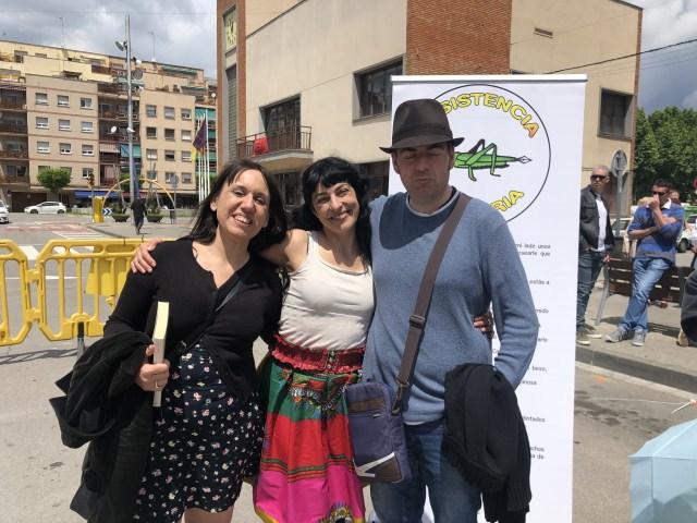 Roser Amills en la I Feria del Libro de La Llagosta, 2019